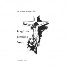 Pregó Setmana Santa 1967 Felanitx