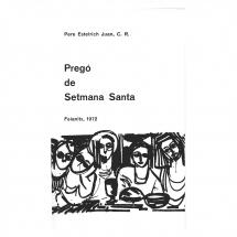 Pregó Setmana Santa 1972 Felanitx