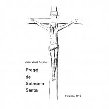 Pregó Setmana Santa 1975 Felanitx