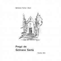 Pregó Setmana Santa 1983 Felanitx