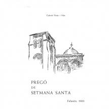 Pregó Setmana Santa 1989 Felanitx