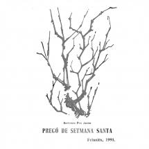 Pregó Setmana Santa 1991 Felanitx