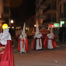 Tamborers i Pas del Crist Jacent. Processó Setmana Santa de Felanitx de 2009