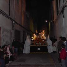 Pas del Sant Enterrament. Obra de l'escultor Jaume Mir. Confraria de la Creuada de l'Amor Diví