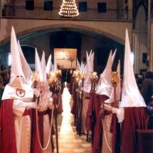 La Confraria al Convent de Sant Agustí. Processó Setmana Santa de Felanitx de 2006