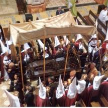 Processó de l'Enterrament el divendres Sant al Convent de Sant Agustí. Processó Setmana Santa de Felanitx de 2006