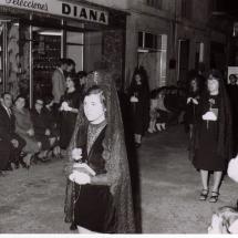 Manolas. Setmana Santa 1972. Imatges retrospectives.