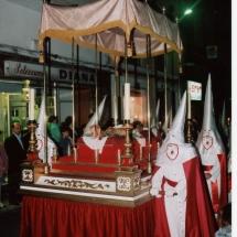 Pas del Crist Jacent portat en rodes. Processons 2001