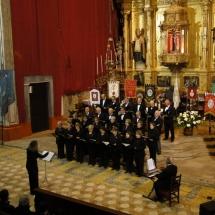 Concert de la Coral de Felanitx el dia del pregó. Pregó Setmana Santa 2010