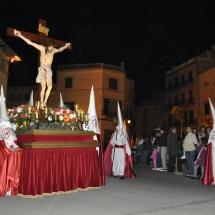 Pas del Sant Crist a la Creu. Processons 2010
