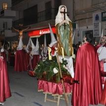 Pas de Santa Maria Magdalena abans de partir la Processó. Processó Setmana Santa de Felanitx de 2010