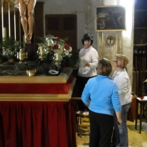 Preparació Setmana Santa. 2010.