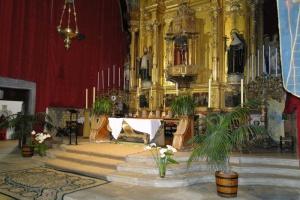 Preparació Setmana Santa. Preparació del Sant Enterramet. 2010