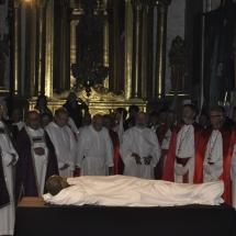 Pregària recitada pels capellans i confrares. Enterramanet 2011