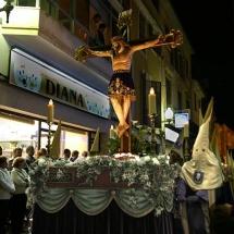 Pas del Sant Crist (rèplica d'un altre que es troba al poble d'Orellana la Vieja). Confraria del Santíssim Crist de la Capella