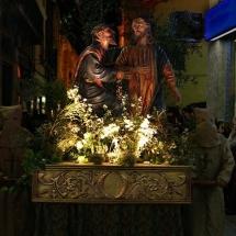 Pas La Besada de Judes. Confraria de Sant Miquel