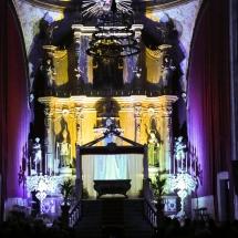 El Convent de Sant Agustí abans de l'Enterrament. Enterrament 2014