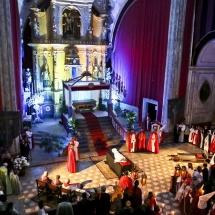 Pregària recitada pels capellans i confrares. Enterramanet 2014