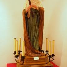 Santa Maria Magdalena a l'exposició a la Casa de Cultura de Felanitx. 50è Aniversari de la Fundació de la Confraria