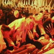 Fotografies a l'exposició a la Casa de Cultura de Felanitx. 50è Aniversari de la Fundació de la Confraria