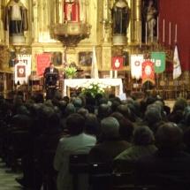 Jaume Canet pronuncia el pregó. Pregó Setmana Santa 2009